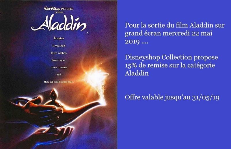 promo sortie Aladdin